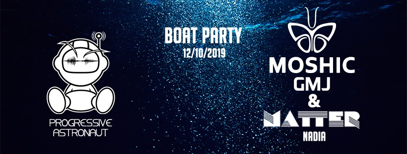 Progressive Astronaut Events Boat Party – London, Oct 12