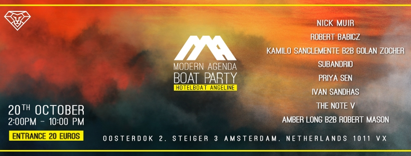 20 Tickets Left to Our ADE BoatParty