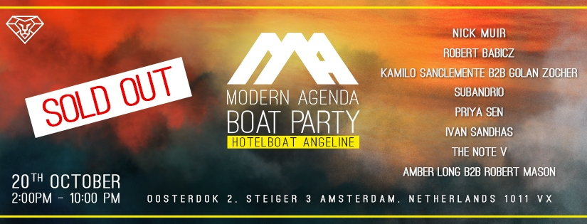 Our ADE Boat Party is SOLDOUT